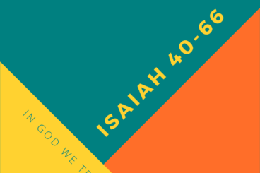 Isaiah Series Booklet and Resources